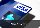 Betal med Visa/Dankort