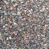 Etablering med stabilgrus og stenmel