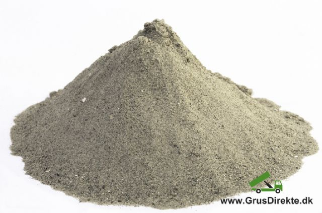 Sandkassesand 0-2 mm (5 ton tiplæs)
